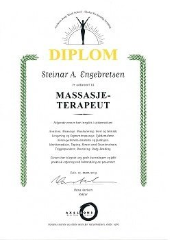 massasjeterapeut Steinar A Engebretsen