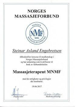 massasjeterapeut MNMF